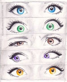 Eyes...gorgeous drawing♥