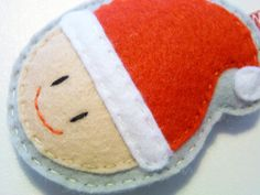 felt ornaments ( this could be an Elf on the Shelf ornament, yes? ) Christmas elves