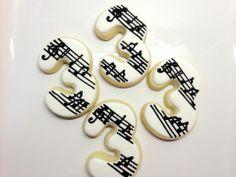 Musical Birthday Cookies