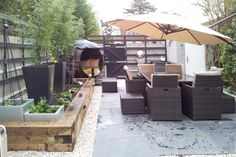 The finished garden room
