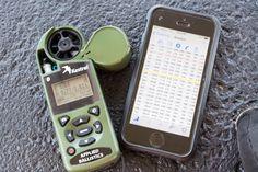 Long Range Shooting Made Easy, Kestrel AE and Ballistic AE iPhone software
