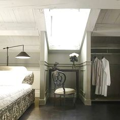 Attic guest room...dying to do this
