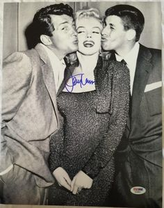 JERRY LEWIS Signed 11x14 photo Marilyn Monroe Dean Martin PSA/DNA COA Pic Proof   eBay