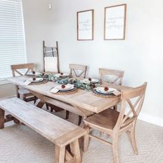 Toscana Extending Dining Table, Tuscan Chestnut, - L Modern Farmhouse Dining Table And Chairs, Whitewash Dining Table, Natural Wood Dining Table, Ikea Dining Table, Dining Table With Bench, Extendable Dining Table, Dining Chairs, Dining Area, Dining Room Design