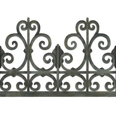 Victorian Wrought Iron Trompe L'oeil Stencil by Royal Design Studios    Wonderful on ceilings or large mirrored walls!
