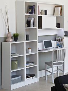 Regalwand Noemi V 3tlg. Eine Regalwand die jeder in den vier Wänden integrieren kann, da sie auch als Wohnwand im Wohnzimmer eine gute und noch dazu praktische Figur macht. Aber auch das...