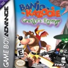 BANJO KAZOOIE GRUNTY'S REVENGE – GAME BOY ADVANCE $9.95  --> https://pyroflame.com/collections/rare-games/products/banjo-kazooie-grunty-s-revenge-game-boy-advance #ecommerce #gaming #retrogaming #gamer #retro