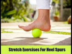 Foot Pain or Plantar Fasciitis Relief Using a Tennis Ball Plantar Fasciitis Exercises, Plantar Fasciitis Treatment, Heel Pain, Foot Pain, Health And Wellness, Health Fitness, Foot Exercises, Back Pain, Healthy Tips