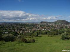 Edimburgo ammirata dalla collina di Blackford Hill, #scozia