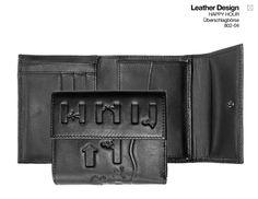 oxmox Leather Überschlagbörse Happy Hour