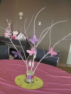 Butterflies Baby Shower Party Ideas