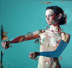 """""""The Things That Keep Me Alive Keep Me Alone"""" - Simon Birch, oil on canvas, 122x122cm, 2011. http://www.simon-birch.com"""