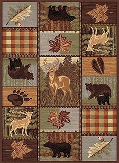 Eagle Wolves Deer And Nature Quilts On Pinterest