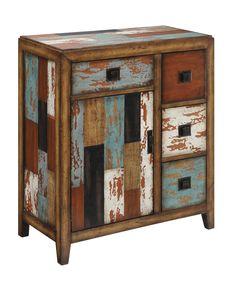 Coast to Coast Imports 4 Drawer 1 Door Cabinet | Wayfair