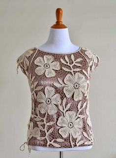 Outstanding Crochet: Irish Crochet Lab: Crochet Flower Pattern is available in out store ...