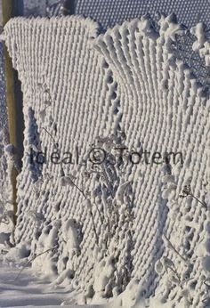 Snow On Fence5_300.jpg new snow patterns come cool stuff!