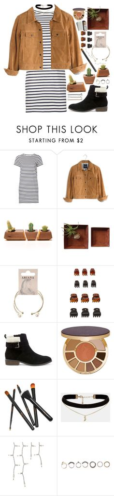"""""""Untitled #395"""" by m4k4y14 on Polyvore featuring M.i.h Jeans, Madewell, Dot & Bo, Lipsy, Forever 21, Sole Society, tarte, Guide London, ASOS and Garance Doré"""