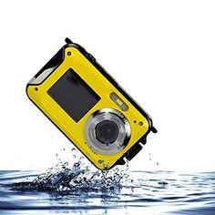 PowerLead Écran double à l'épreuve des intempéries Appareil photo numérique 2,7 pouces LCD avec appareil photo 2.7 pouces: Caméra numérique…