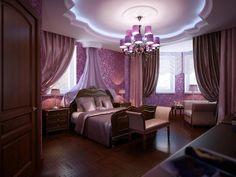 Sypialnia w różu, dlaczego nie?  Modnym akcentem w sypialni jest żyrandol, któremu coraz więcej osób ulega. Zapraszamy do naszego sklepu by wybrać jakiś dla siebie :) www.espotlight.pl