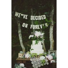 45 Dreamy Outdoor Woodland Wedding Ideas ❤ liked on Polyvore featuring home, outdoors, outdoor decor, outdoor patio decor, outdoor garden decor and outside garden decor