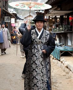 The character of Baek Doyang in the drama JeJoongWon (제중원) @ KoreanHistoricalDramas.com