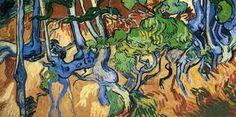 Tree roots - (Vincent Van Gogh)