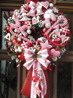 Weihnachtskranz Landhaus
