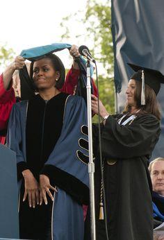 At the 2010 George Washington University Commencement
