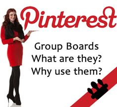 Pinterest Group Boards What are they? Why use them? More Pinterest tips at http://getonthemap.us/pinterest/blog #573tips #pinterest