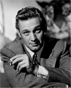 William Holden:  Gentleman.