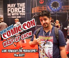 #NewYorkComicCon Review Show LIVE TONIGHT ON PERISCOPE!! Tune in at 9pm EST and then stay tuned for an extra special #NCBD Edition of the Pete's Basement Show where we'll be talking highlights of the books from the last two weeks! Amazing photo by @whatchulookingat  #NYCC #NYCC2016 #NewComicBookDay #HeMan #Thundercats #MastersoftheUniverse #SpiderMan #TheCloneConspiracy #Chimichanga #GreatLakesAvengers #Champions #MilesMorales #MsMarvel #KamalaKhan #TheLostBoys #LukeCage #IronFist #Flash…