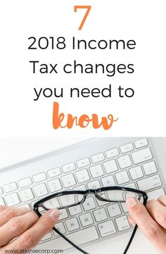 2018 income tax changes Small Business Bookkeeping, Small Business Accounting, Accounting 101, Business Tax Deductions, Tax Refund, Income Tax Preparation, Tax Questions, Tax Help, Income Tax Return