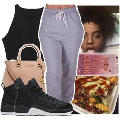 A fashion look from December 2016 featuring CO activewear pants, MICHAEL Michael Kors handbags and Agent 18 tech accessories. Browse and shop related looks.