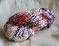 8ply DK Hand Dyed 100% Wool - OOAK