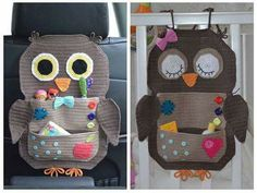 Crochet Pattern Owl Treasure Organiser by ViTalinaCraft on Etsy Looking for your next project? You're going to love Owl Treasure Organiser by designer Tanya Matsiuk. This crochet pattern is for my Owl Treasure Organiser. This beautiful organiser can be us Crochet Car, Crochet Owls, Crochet Home, Cute Crochet, Crochet Animals, Crochet Crafts, Crochet Projects, Crochet Patterns, Crochet Appliques
