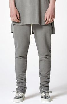 5ad61fbdbcc954 FOG Fear Of God Essentials Pacsun Tan Joggers Med The Drawstring ...