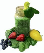 This Good Morning Green Juice Recipe is a perfect way to start your day!  #justonjuice #juicing    http://www.justonjuice.com/good-morning-green-juice-recipe/