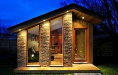 We already got Modern Tiny House on Small Budget and will make you swon. This Collections of Modern Tiny House Design is designed for Maximum impact. Modern Tiny House, Tiny House Living, Tiny House Design, Living Room, Tiny House Movement, Modern Exterior, Exterior Design, Small Cottage Homes, Small Homes
