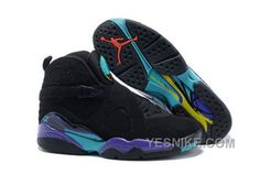 85873185b00eb2 Buy New Air Jordan 8 Black Dark Concord-Anthracite-Aqua Tone For Sale from  Reliable New Air Jordan 8 Black Dark Concord-Anthracite-Aqua Tone For Sale  ...