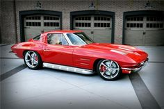 1963 Red Custom Coupe