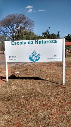 Projeto GDF para ensino ambiental.