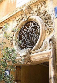 Beautiful architectural detail....Lyon, France