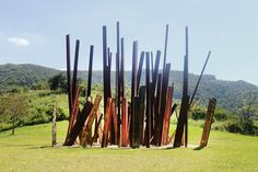 Inhotim, the biggest open air museum in the world, in Belo Horizonte, Brazil.