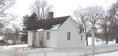 Herbert Hoover's (31st President) birthplace, West Branch, Iowa, in the HH National Park