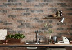 Achieve a variegated look such as this with our Georgetown color mix- We add black clay powder to some of our tiles to give them a charred black/singed appearance that many customers adore.