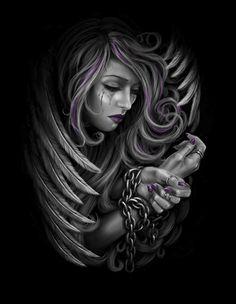 My Evil Dark Side Is The Fuckin' Hell!!! — fantasy-art-imagination: HANDY HEPWORTH...