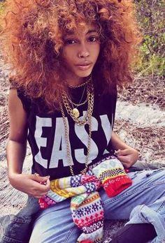 this girl is my style/hair inspiration