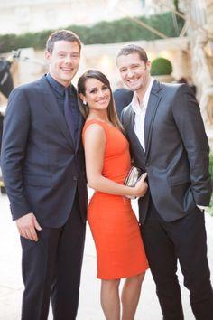 Glee - Cory Monteith (Finn) , Lea Michele (Rachel) , Matthew Morrison (Will)