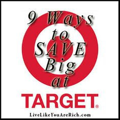 How to Coupon at Target. Easy to follow tips to save lots on your Target shopping trips.