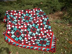 Pokeytown Kim: Doll quilt swap Carolina Christmas Bonnie Hunter Quiltville